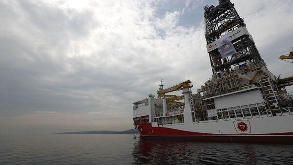 Το τουρκικό πλοίο - γεωτρύπανο Γιαβούζ (Yavuz) - Sputnik Ελλάδα