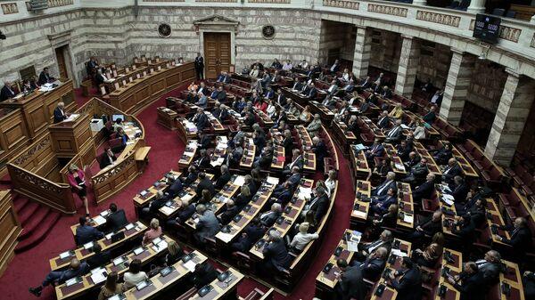 Το ελληνικό κοινοβούλιο. - Sputnik Ελλάδα