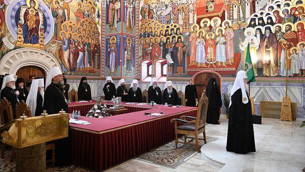 Σύνοδος της Ρωσικής Ορθόδοξης Εκκλησίας - Sputnik Ελλάδα