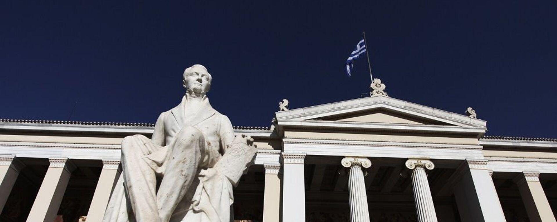 Εθνικό και Καποδιστριακό Πανεπιστήμιο Αθηνών - Sputnik Ελλάδα, 1920, 06.09.2021