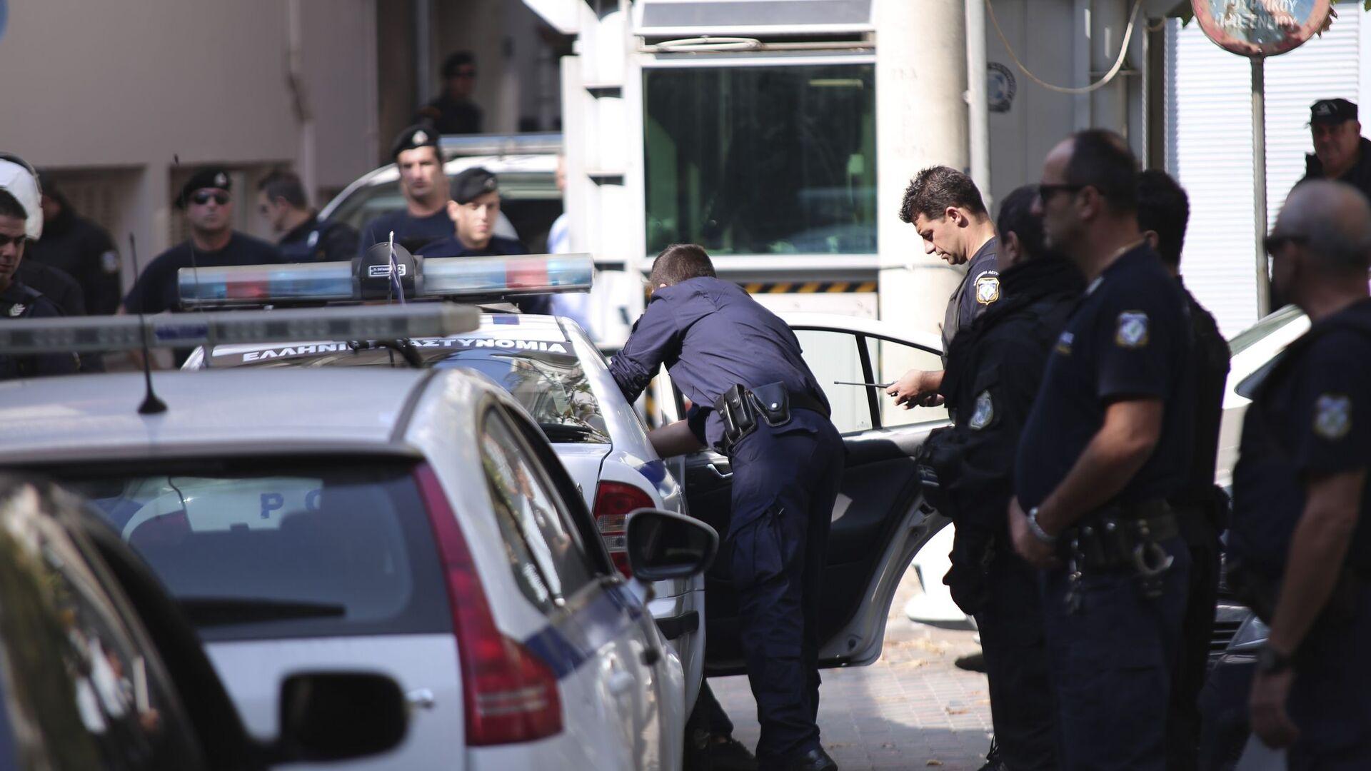 Συλλήψεις από την αστυνομία στη Θεσσαλονίκη μετά την εισβολή στο τουρκικό προξενείο. - Sputnik Ελλάδα, 1920, 23.09.2021