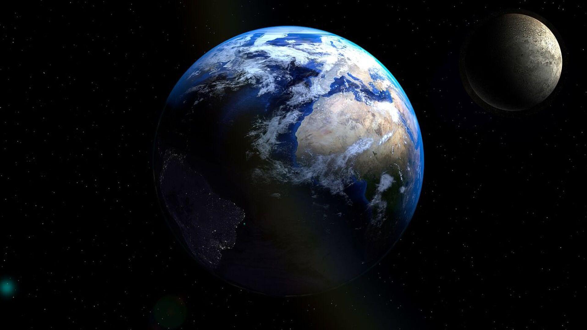 Εικόνα από το Διάστημα: Η Γη.  - Sputnik Ελλάδα, 1920, 01.10.2021