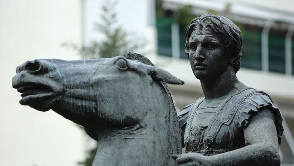 Το άγαλμα του Μ. Αλεξάνδρου - Sputnik Ελλάδα
