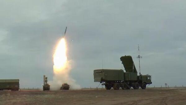Στιγμιότυπο από τη δοκιμή S-400 - Sputnik Ελλάδα