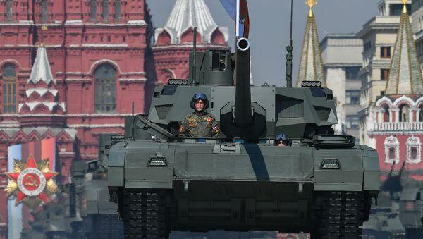 Το ρωσικό τανκ T-14 Armata - Sputnik Ελλάδα