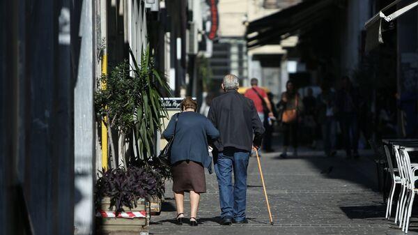 Συνταξιούχοι. - Sputnik Ελλάδα