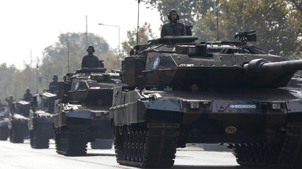 Άρμα στη στρατιωτική παρέλαση στη Θεσσαλονίκη  - Sputnik Ελλάδα