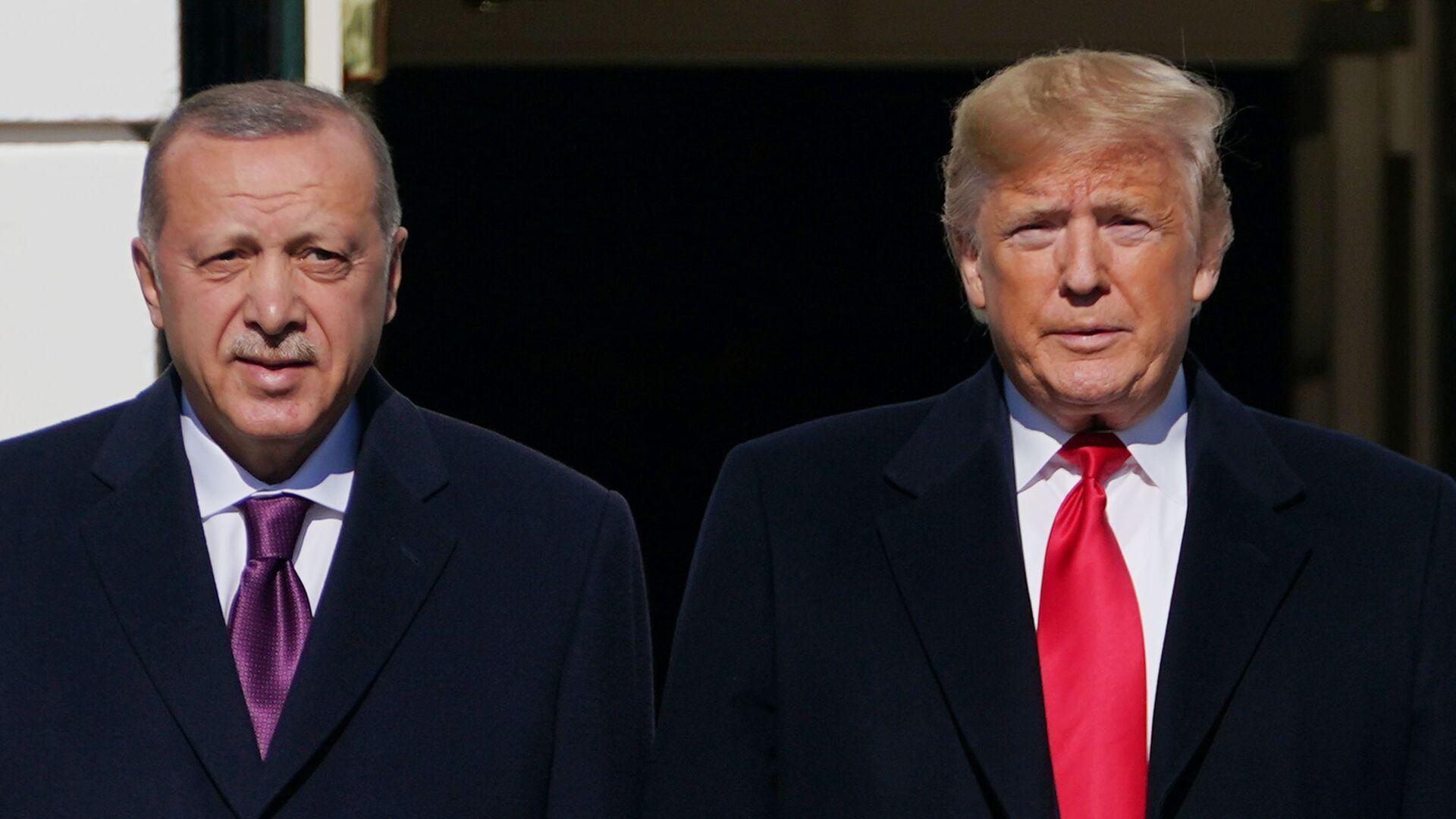 Συνάντηση Τραμπ - Ερντογάν στον Λευκό Οίκο - Sputnik Ελλάδα, 1920, 06.10.2021