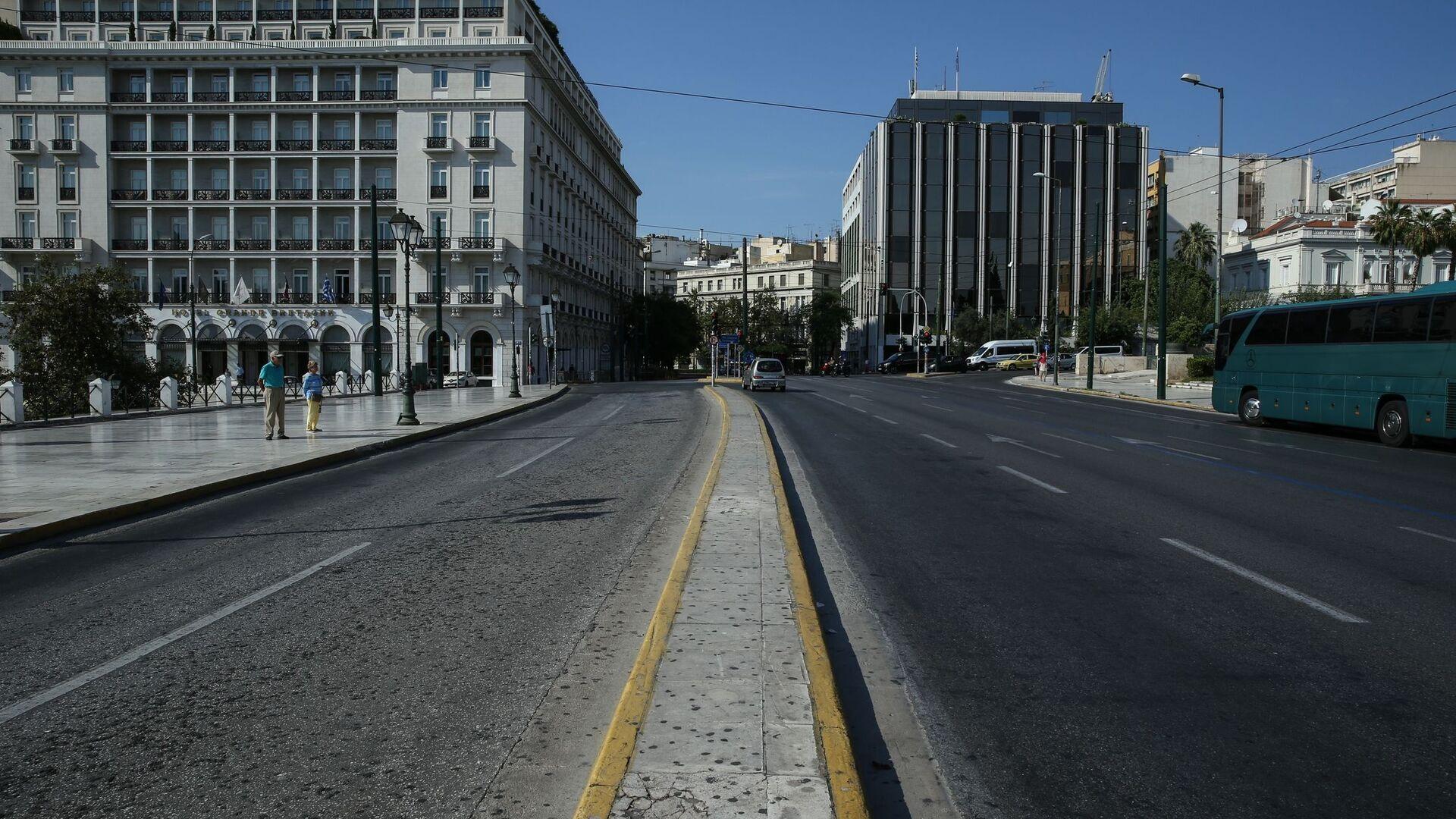 Άδειοι δρόμοι. - Sputnik Ελλάδα, 1920, 02.10.2021