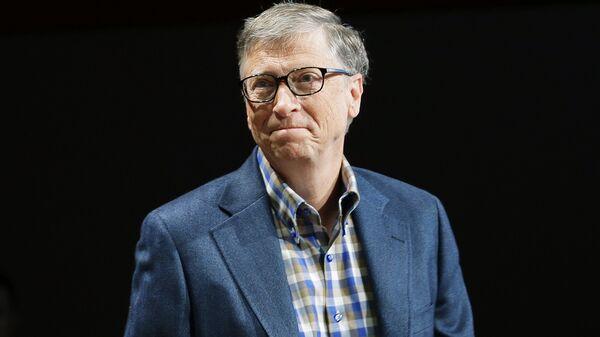 Ο συνιδρυτής της  Microsoft, Μπιλ Γκέιτς - Sputnik Ελλάδα