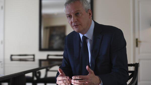 Ο γάλλος υπουργός Οικονομίας Μπρουνό Λε Μερ - Sputnik Ελλάδα