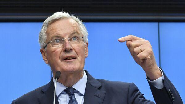 O διαπραγματευτής της Κομισιόν Μισέλ Μπαρνιέ - Sputnik Ελλάδα