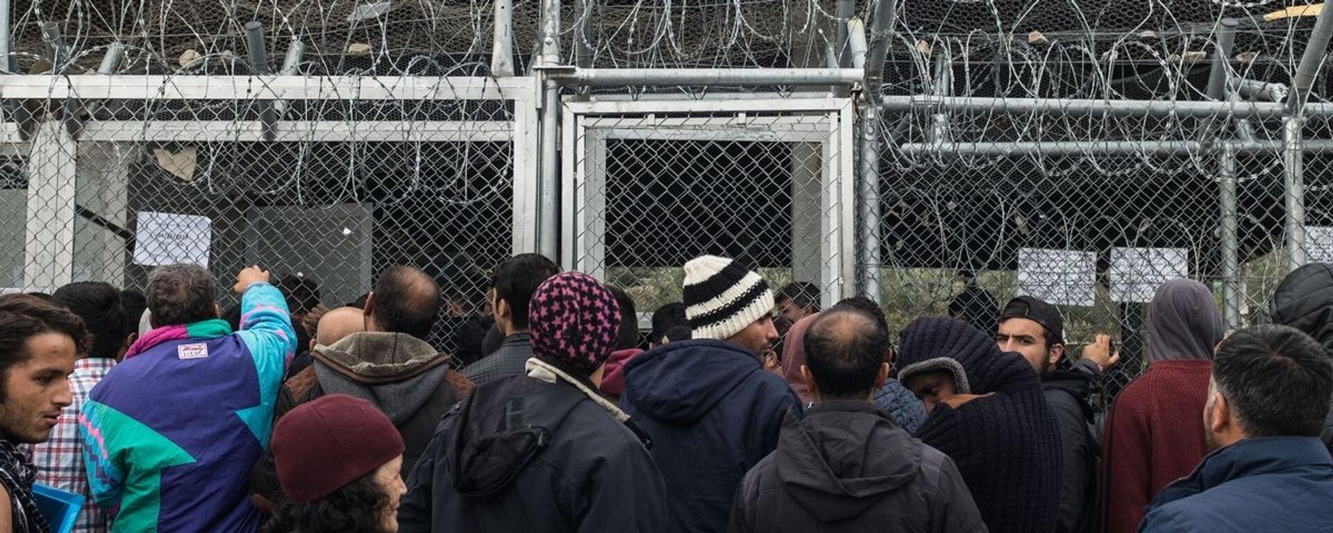Το καμπ προσφύγων στη Μόρια - Sputnik Ελλάδα, 1920, 17.08.2021
