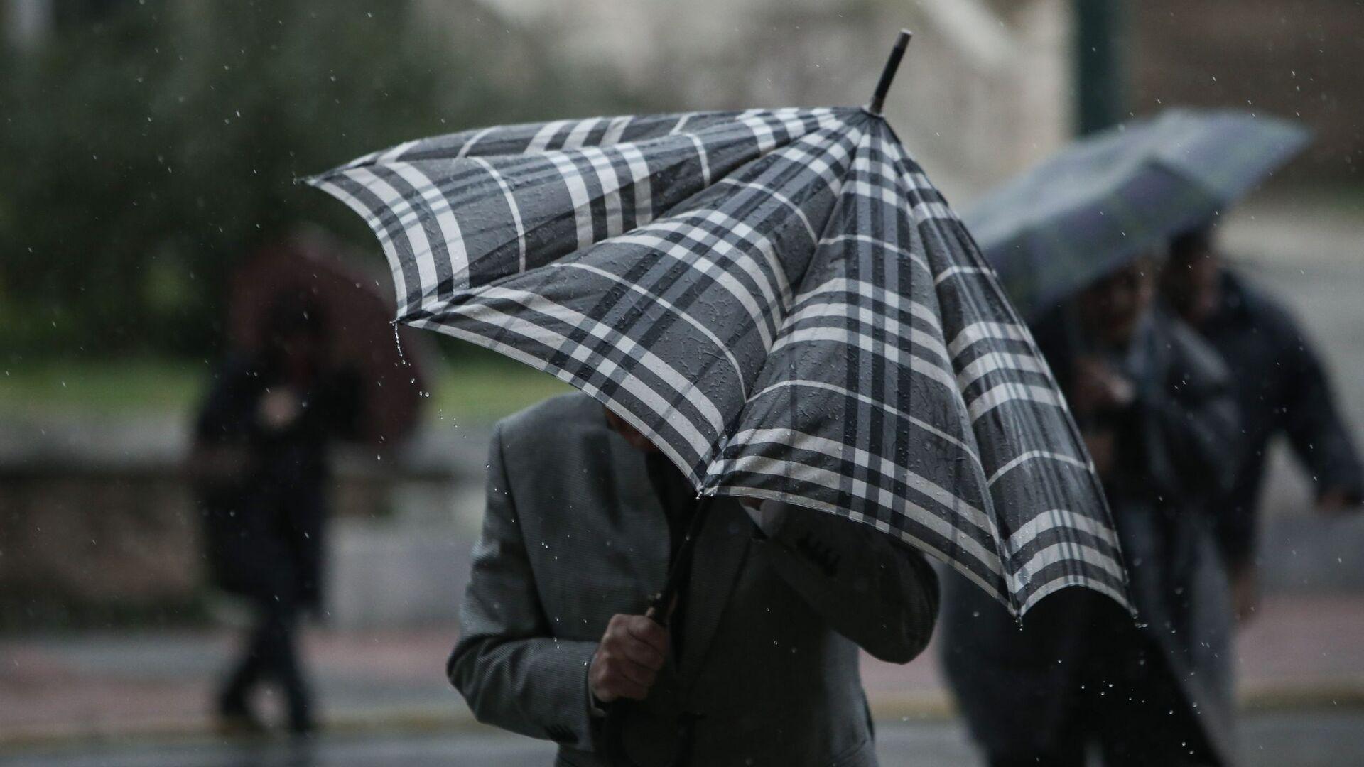 Βροχόπτωση στην Αθήνα. - Sputnik Ελλάδα, 1920, 06.10.2021