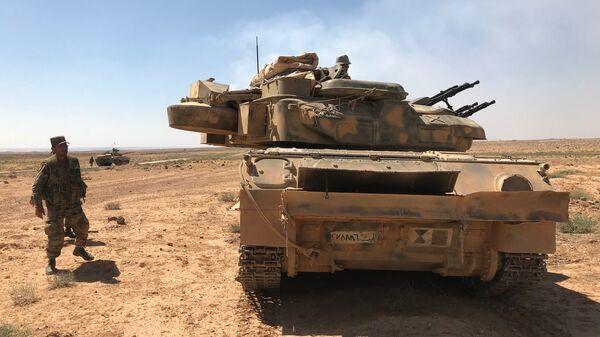Ο συριακός στρατός στα σύνορα με την Ιορδανία - Sputnik Ελλάδα