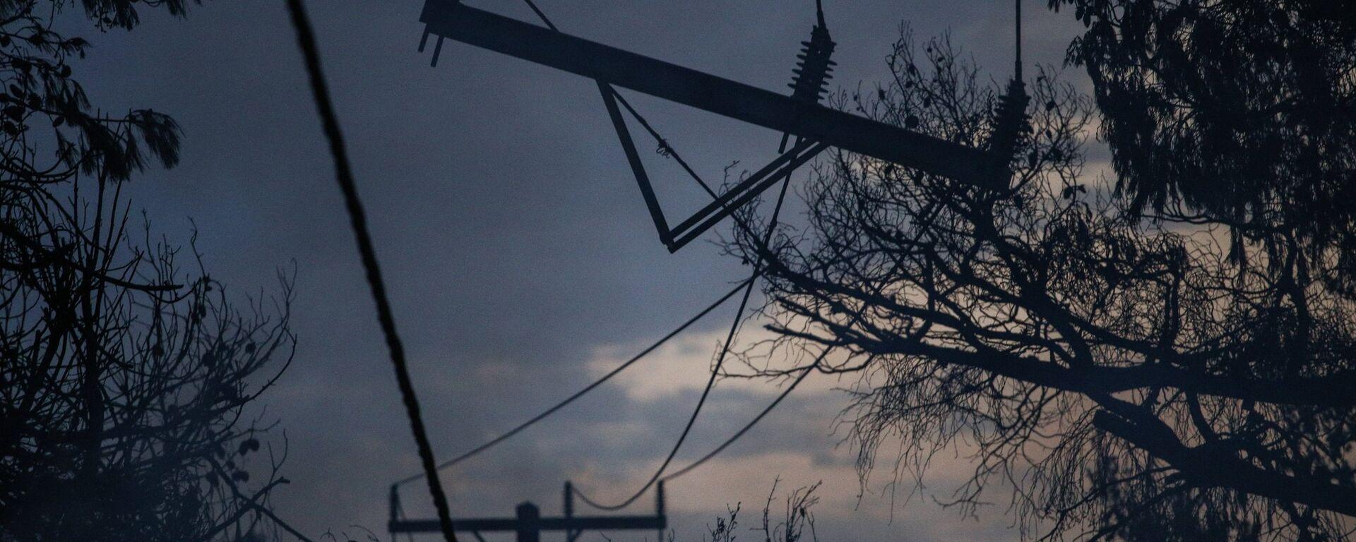 Ζημιές στο ηλεκτρικό δίκτυο της ανατολικής Αττικής  - Sputnik Ελλάδα, 1920, 07.10.2021