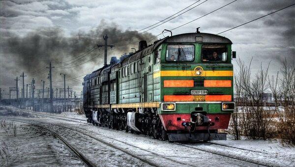 Τρένο στη Σοβιετική Ένωση - Sputnik Ελλάδα