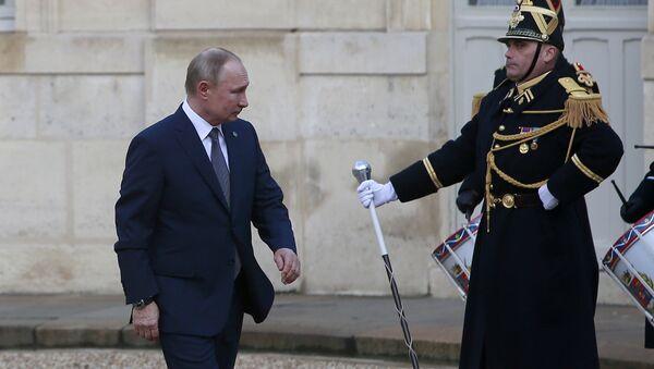 Ο Πούτιν στο Παρίσι - Sputnik Ελλάδα