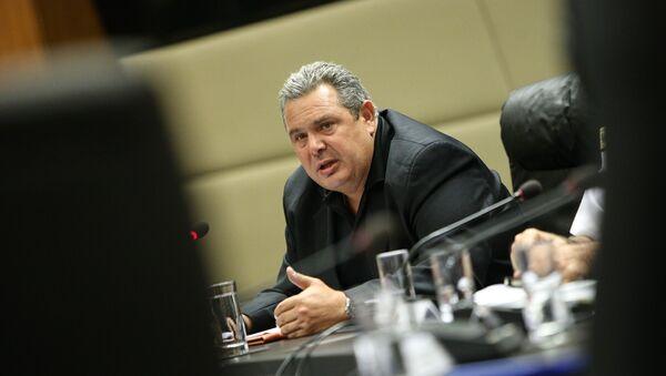 Ο υπουργός Εθνικής Άμυνας, Πάνος Καμμένος - Sputnik Ελλάδα
