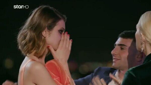 Τα δάκρυα της Άννας-Μαρίας Ηλιάδου στον τελικό του «GNTM 2» - Sputnik Ελλάδα