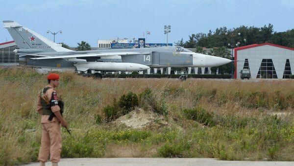 Η ρωσική αεροπορική βάση Χμέιμιμ στη Συρία - Sputnik Ελλάδα