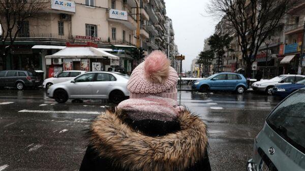 Καιρός με κρύο.  - Sputnik Ελλάδα