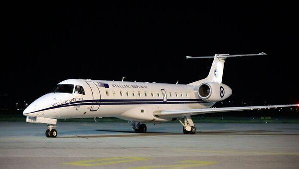 Ένα από τα VIP αεροσκάφη της Πολεμικής Αεροπορίας - Sputnik Ελλάδα