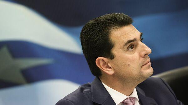Ο Τομεάρχης Περιβάλλοντος και Ενέργειας της ΝΔ Κώστας Σκρέκας - Sputnik Ελλάδα