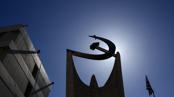 Η έδρα της ΚΕ του ΚΚΕ στον Περισσό - Sputnik Ελλάδα