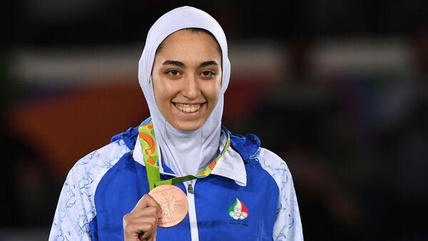 Η Ιρανή αθλήτρια Κίμια Αλιζαντέχ - Sputnik Ελλάδα