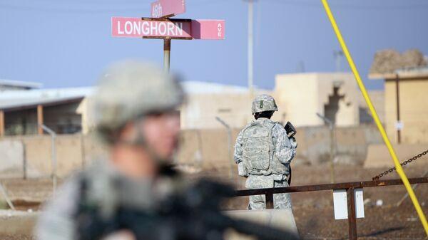 Στρατιώτες των ΗΠΑ στη στρατιωτική βάση Taji στο Ιράκ - Sputnik Ελλάδα