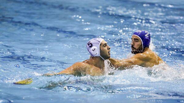 Φάση από τον αγώνα της Εθνικής Ανδρών πόλο με την Ιταλία - Sputnik Ελλάδα