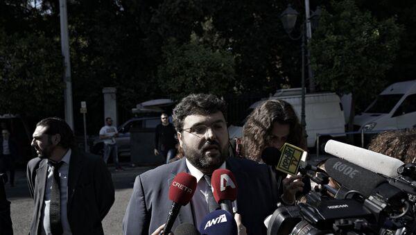 Γιώργος Βασιλειάδης - Sputnik Ελλάδα