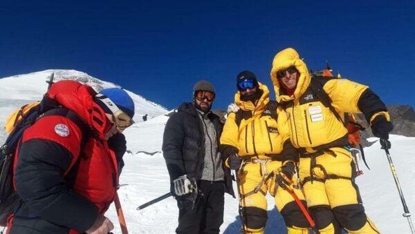 Έλληνες ορειβάτες στον Καύκασο - Sputnik Ελλάδα