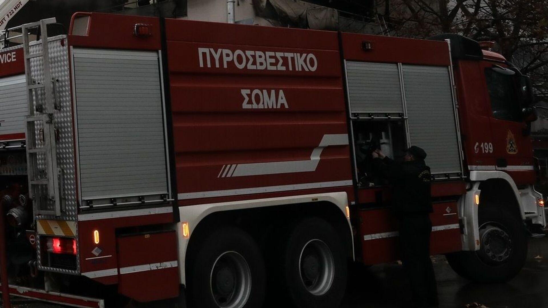 Πυροσβεστικό όχημα - Sputnik Ελλάδα, 1920, 06.10.2021