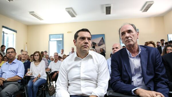 Σύσκεψη υπό τον πρωθυπουργό για την επόμενη μέρα μετά τις φονικές πυρκαγιές - Sputnik Ελλάδα