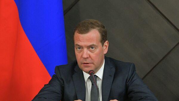 Ο πρωθυπουργός της Ρωσίας, Ντμίτρι Μεντβέντεφ - Sputnik Ελλάδα