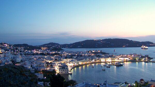 Το λιμάνι της Μυκόνου - Sputnik Ελλάδα