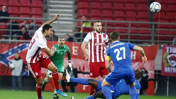 Χασάν και Φορτούνης στο Ολυμπιακός - Λαμία για το Κύπελλο Ελλάδας - Sputnik Ελλάδα
