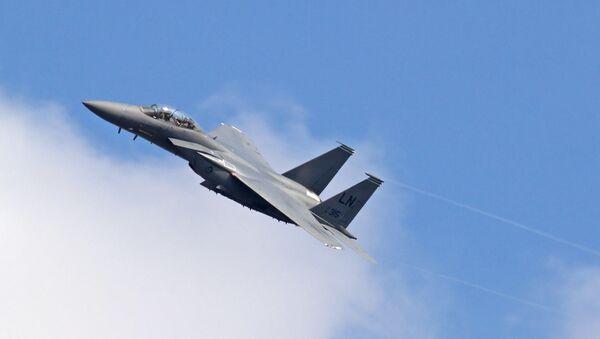 Πολεμικό αεροσκάφος F-15  - Sputnik Ελλάδα