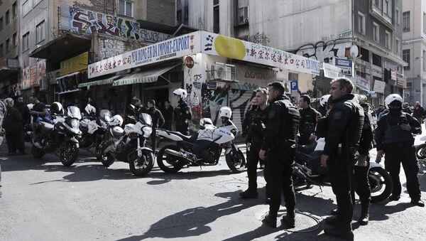 Πυροβολισμοί στη Μενάδρου - Sputnik Ελλάδα