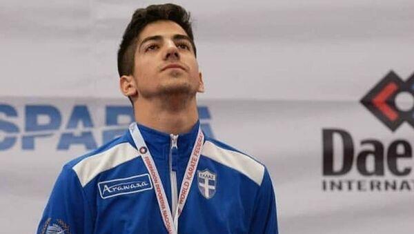 Ο Έλληνας πρωταθλητής του Καράτε, Στέφανος Ξένος - Sputnik Ελλάδα