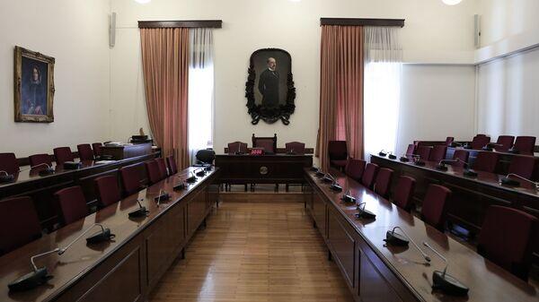 Συνεδρίαση της προανακριτικής επιτροπής για την υπόθεση Novartis - Sputnik Ελλάδα