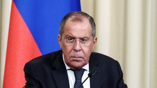 Ο ρώσος υπουργός Εξωτερικών Σεργκέι Λαβρόφ - Sputnik Ελλάδα