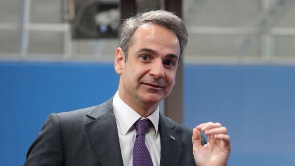 Ο Μητσοτάκης στην Έκτακτη Σύνοδο Κορυφής για τον Προϋπολογισμό της ΕΕ - Sputnik Ελλάδα