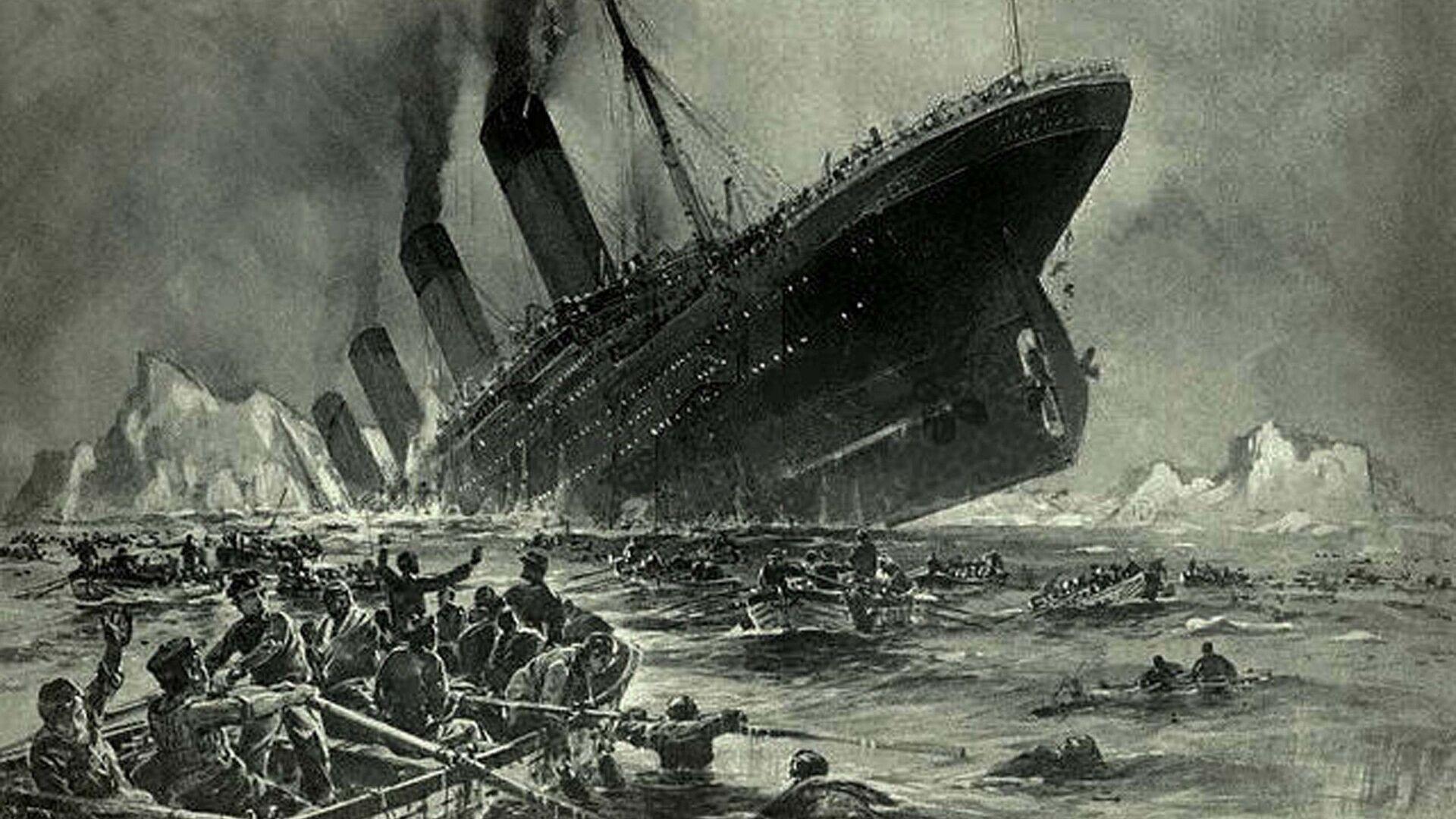 Η βύθιση του πλοίου Τιτανικός - Sputnik Ελλάδα, 1920, 19.09.2021