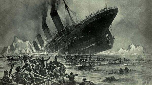 Η βύθιση του πλοίου Τιτανικός - Sputnik Ελλάδα