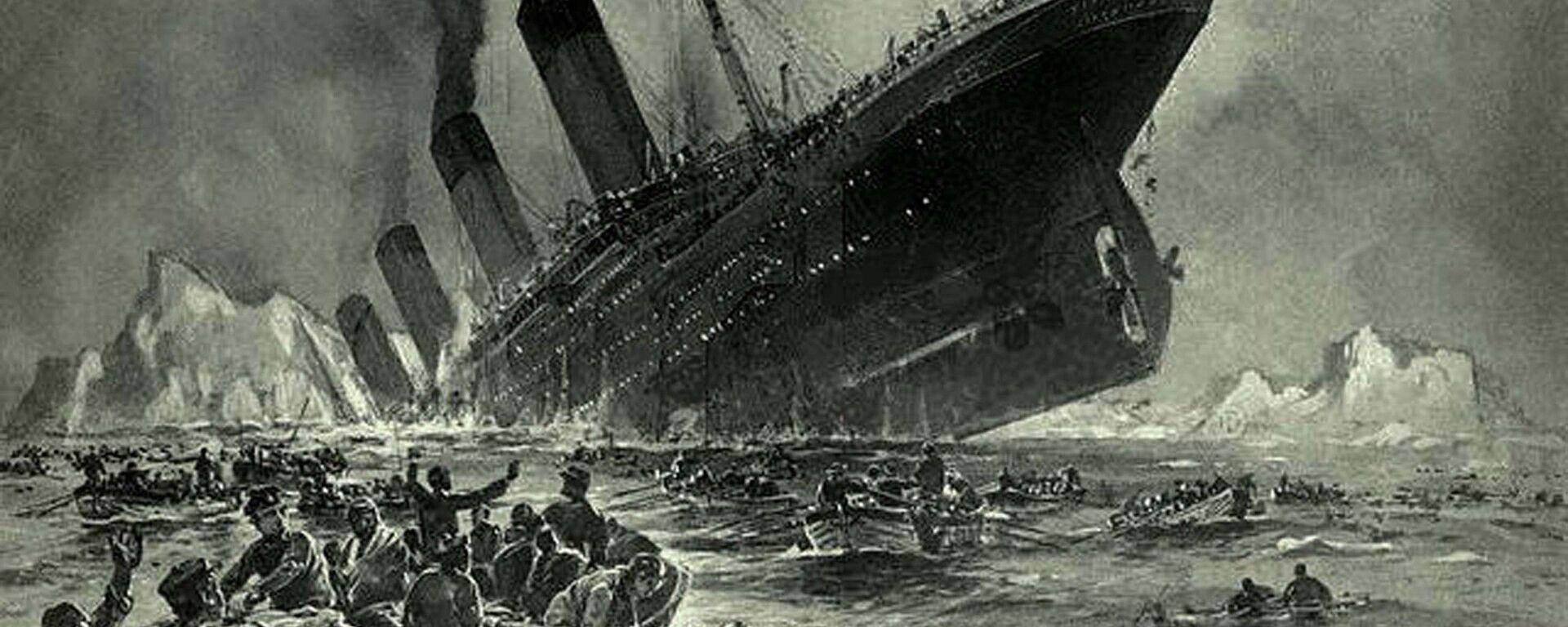 Η βύθιση του πλοίου Τιτανικός - Sputnik Ελλάδα, 1920, 03.08.2021