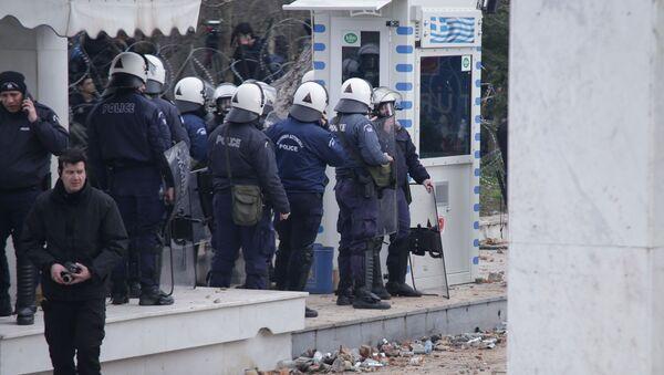 Στιγμιότυπο από τα σύνορα Ελλάδας - Τουρκίας στον Έβρο  - Sputnik Ελλάδα