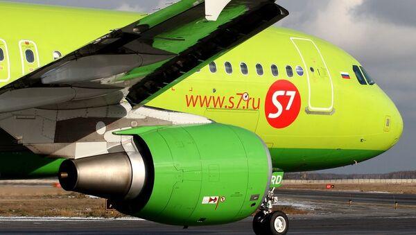 Αεροσκάφος Airbus A320-214 της εταιρείας S7 Airlines - Sputnik Ελλάδα